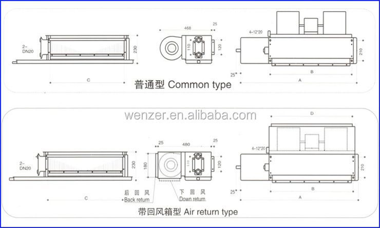 Chilled Water Fan Coil Units Buy Chilled Water Fan Coil