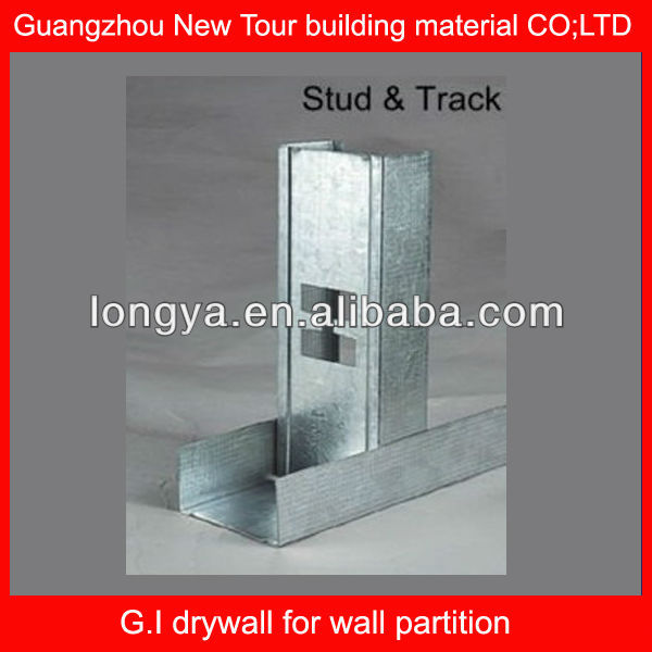 Drywall Galvanized 304 stainless steel profile