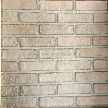 Olingen new color milky white for wall decoration culture for Modern brick veneer