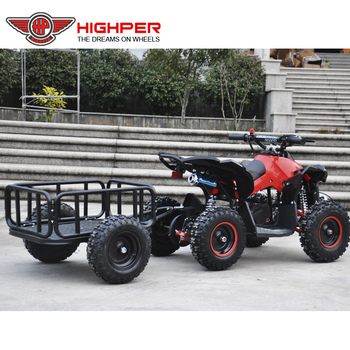 Kids Small Mini Atv Quad Trailer View Atv Trailer Highper Product Details From Hangzhou High Per Corporation Limited On Alibaba Com