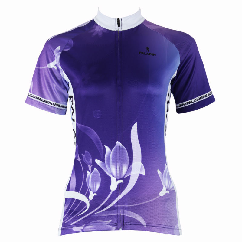 Pink Lily women or ladys short cycling jersey maillot bicicleta Ropa Ciclismo skinsuit rider sportswear bike shirt package