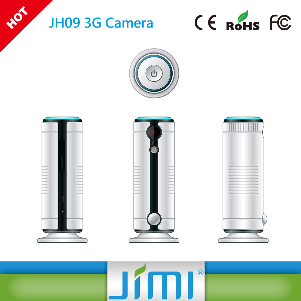 JIMI wifi camera cloud with CE, FCC, ROHS certificate served , chat with your parents
