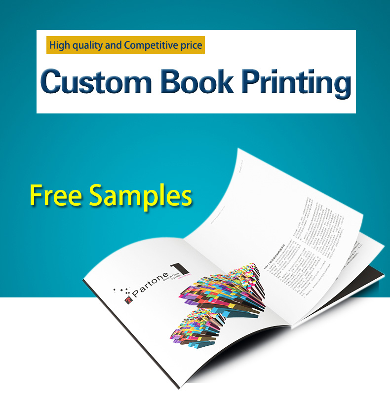 China Professional Softcover Book Catalog Magazine Printing in Shenzhen with Cheap Price