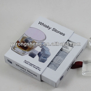 Whiskey Rock Stone Cube dice ice cube/ceramic/customized Whisky Stone