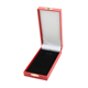 Luxury red military medal box with Satin Lined and Pinned velvet Inner pad