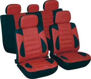 Universal Fit 11pcs Full Set Soft PU&Leather Auto Car Seat Cover