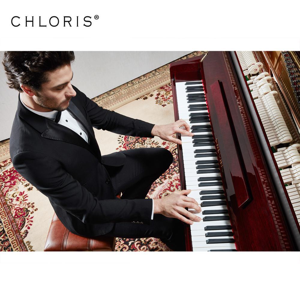 Chloris 88 Keys Virtual Piano Keyboard Mahogany Types Of Acoustic Upright  Piano Brands For Sale Hu-123m - Buy Upright Piano Brands,Virtual Piano