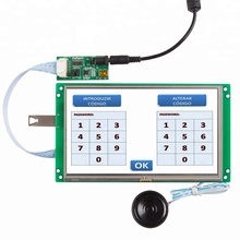 STEIN hd tft <span class=keywords><strong>lcd</strong></span> <span class=keywords><strong>modul</strong></span> mit bunte touch screen & RS232/RS485 interface