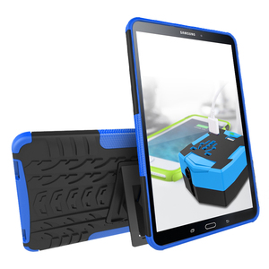 For Samsung GALAXY Tab A 10.1 / T580 , New Shockproof Protective Rugged Rubber Silicone PC Tablet Case