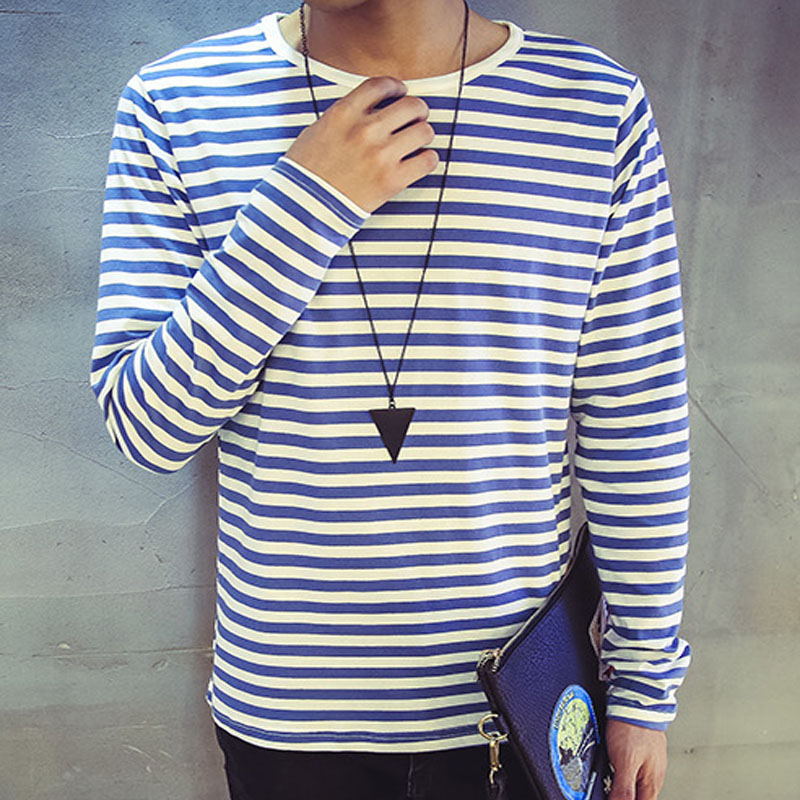 2c59828331740 mens black and white striped long sleeve t shirt