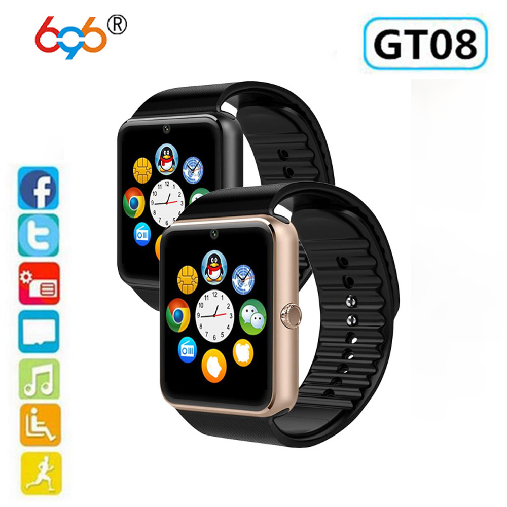 GT08 Z60 Z50 SPORT Fitness Tracker smart watch GSM Call SIM BT for Android system фото