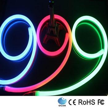 25*15mm Led Led Neon Flex Flexible Led Tube Rope Light 2 Years ...