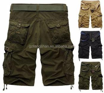 19968fb274a9 Summer Casual Men Shorts Work Pants Loose Wholesale Mens Cargo Shorts