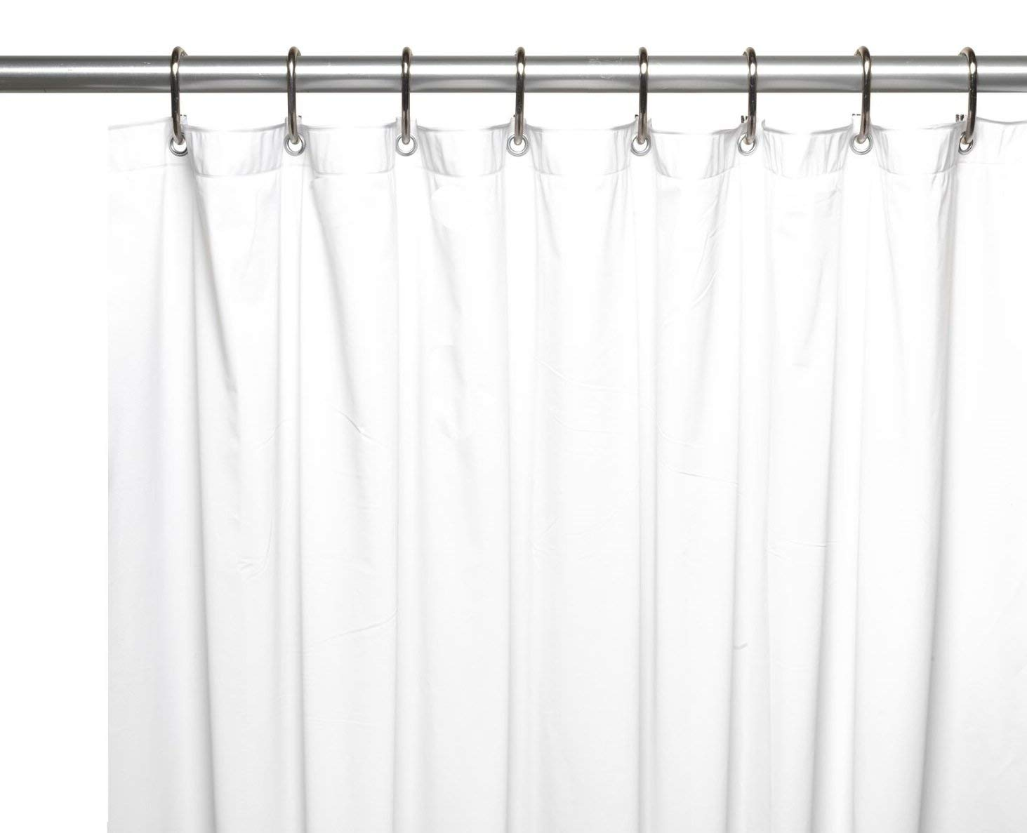 Get Quotations Royal Bath Extra Wide 5 Gauge Vinyl Shower Curtain Liner With Metal Grommets In White