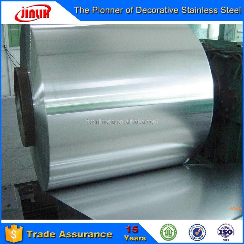 Stainless Steel 201 202 409 410 430 Cold and Hot Rolled No.1/2B/BA/NO.4/HL/NO.8 Sheet Foil Coil Tape Belt Strip