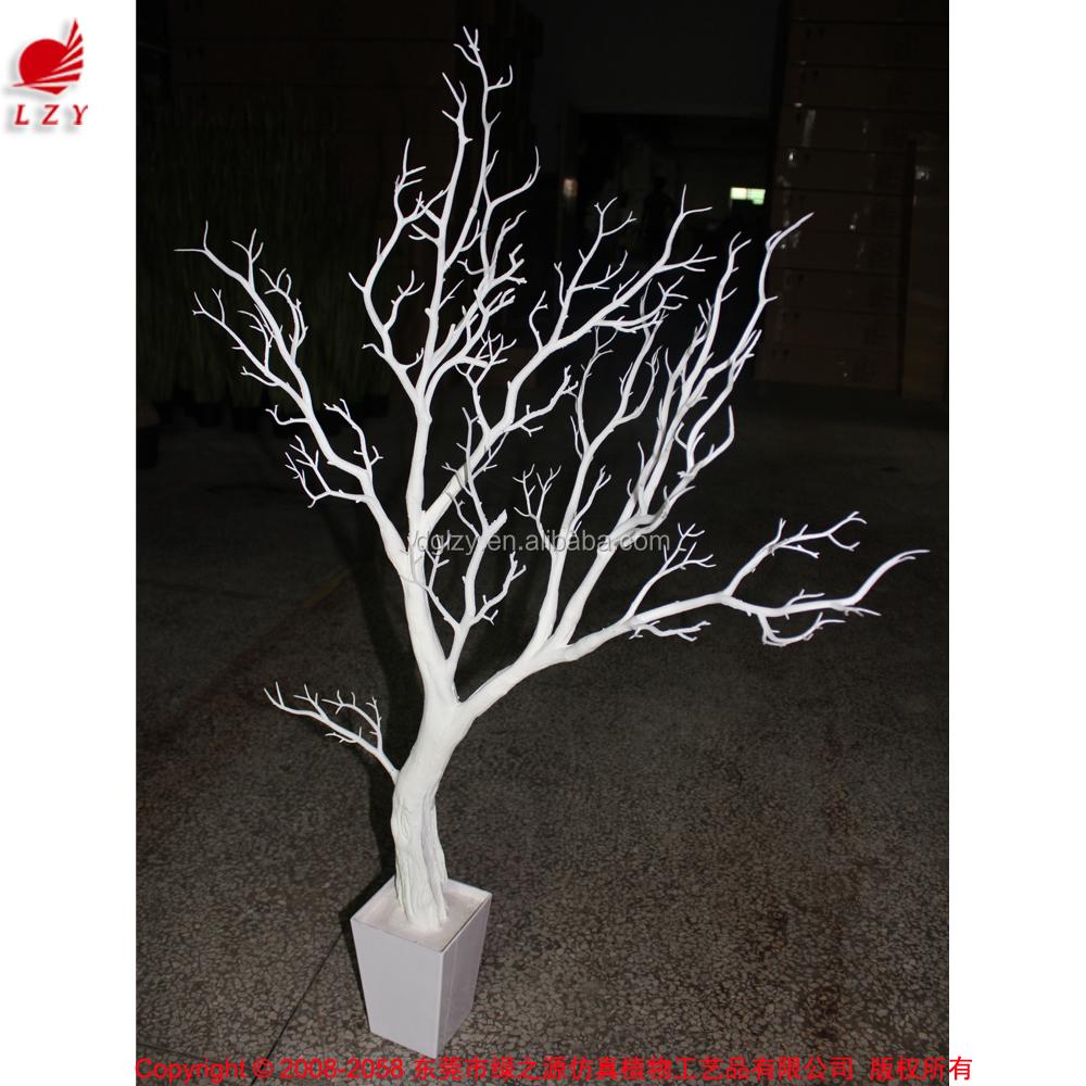 tricot pas cher artificielle d corative blanc sec corail branche d 39 arbre pour d corations de. Black Bedroom Furniture Sets. Home Design Ideas