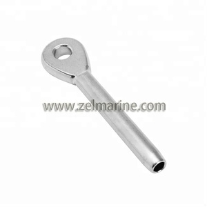 Stainless Steel Wire Rope Eye Swage Terminal