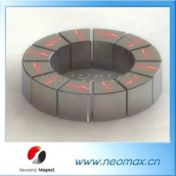 Halbach array permanent neodymium magnet ndfeb magnetic for Halbach array motor generator