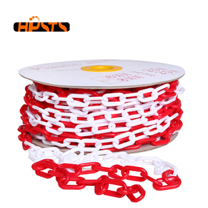 Lightweight decorative coloured 3mm plastic chain