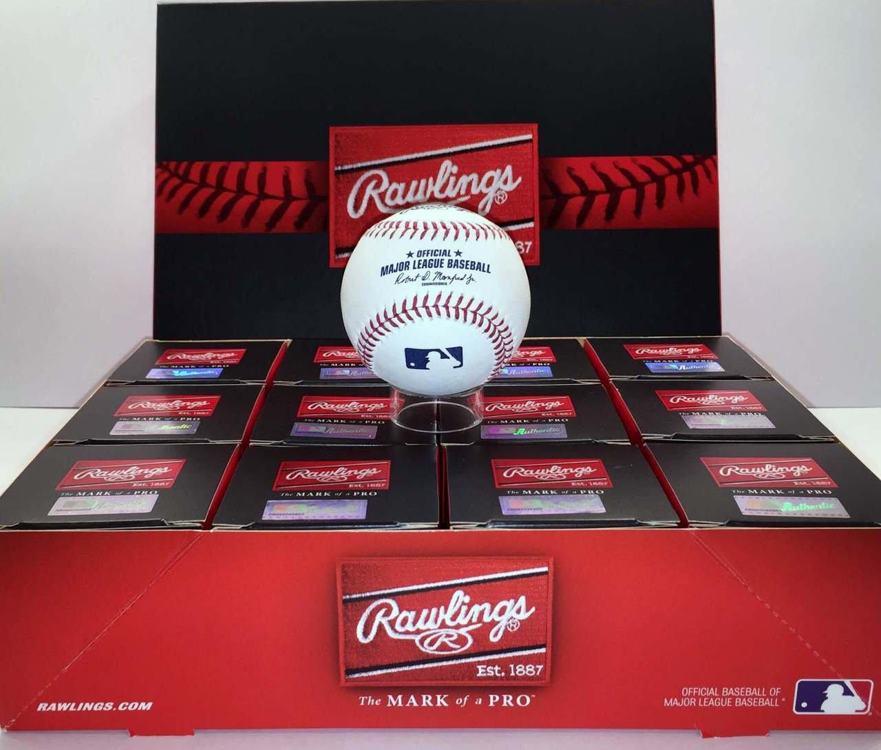 Rawlings Official Major League Game Baseball - ROMLB - 1 Dozen (12)