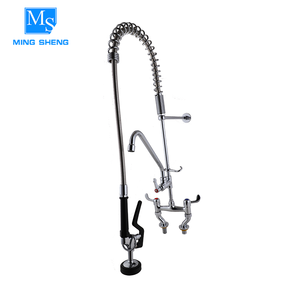 2018 New arrival hot and cold adjustable commercial restaurant taps pre rinse unit add on faucet