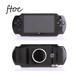 X6 Handheld Game Console 4 3 Inch Screen 128 bit Video Games Consoles Game  Player Real 8GB For PSP, Camera,Video,E-book