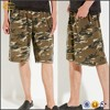 Ecoach wholesale men custom alternative camo sweatshorts 65% cotton 35% polyester french terry casual shorts