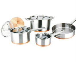 9pcs High quality inox cookware set