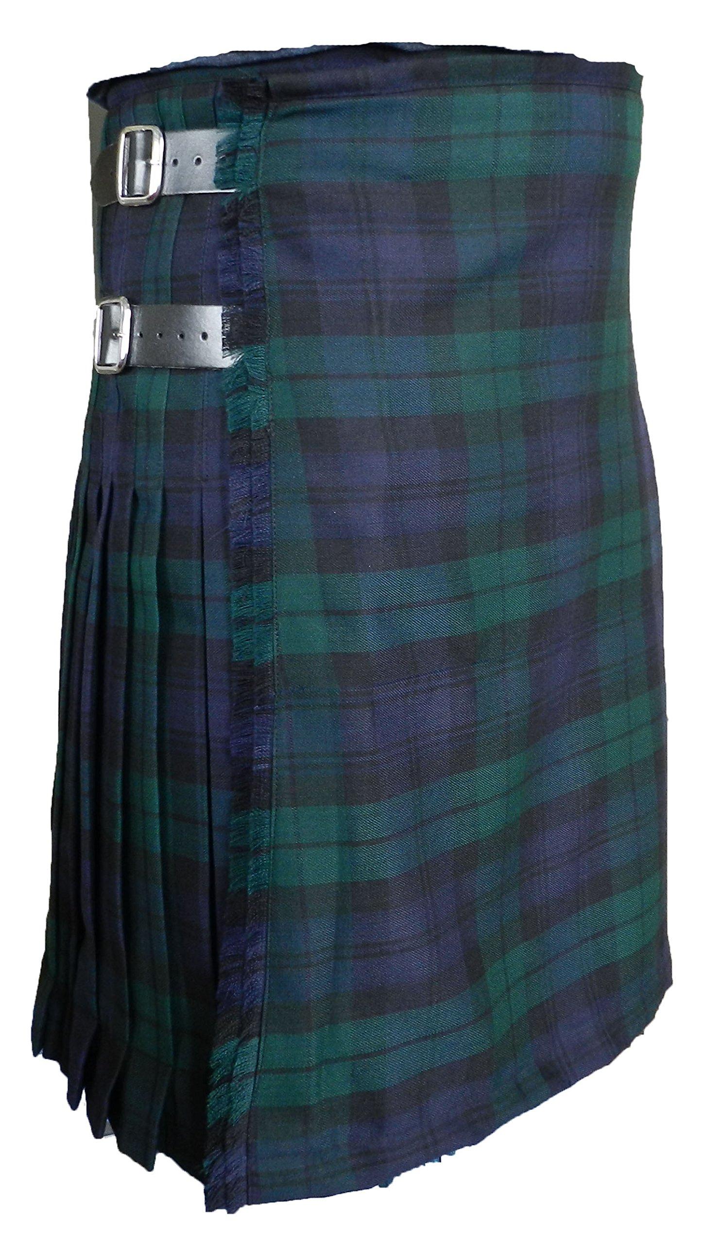 100% 13 oz Wool Scottish Kilts - UT Kilts