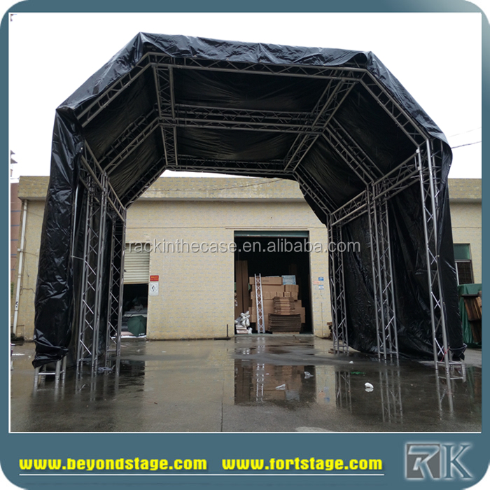 Concert Stage Aluminum Flat Roof Truss(id:10634466)  Buy China