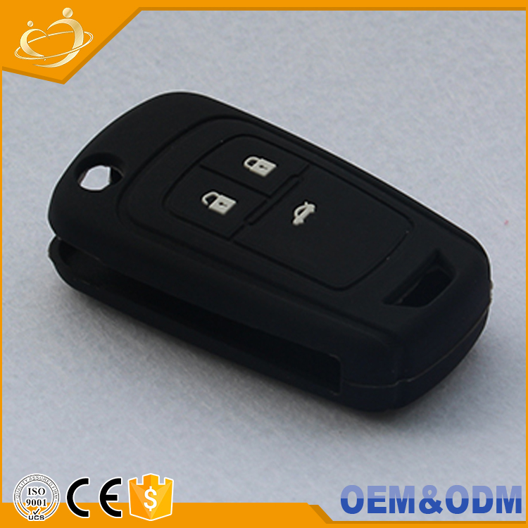 Car Styling Silicone Rubber Key Cover Remote Car Key Holder Key Fob For Buick Excelle