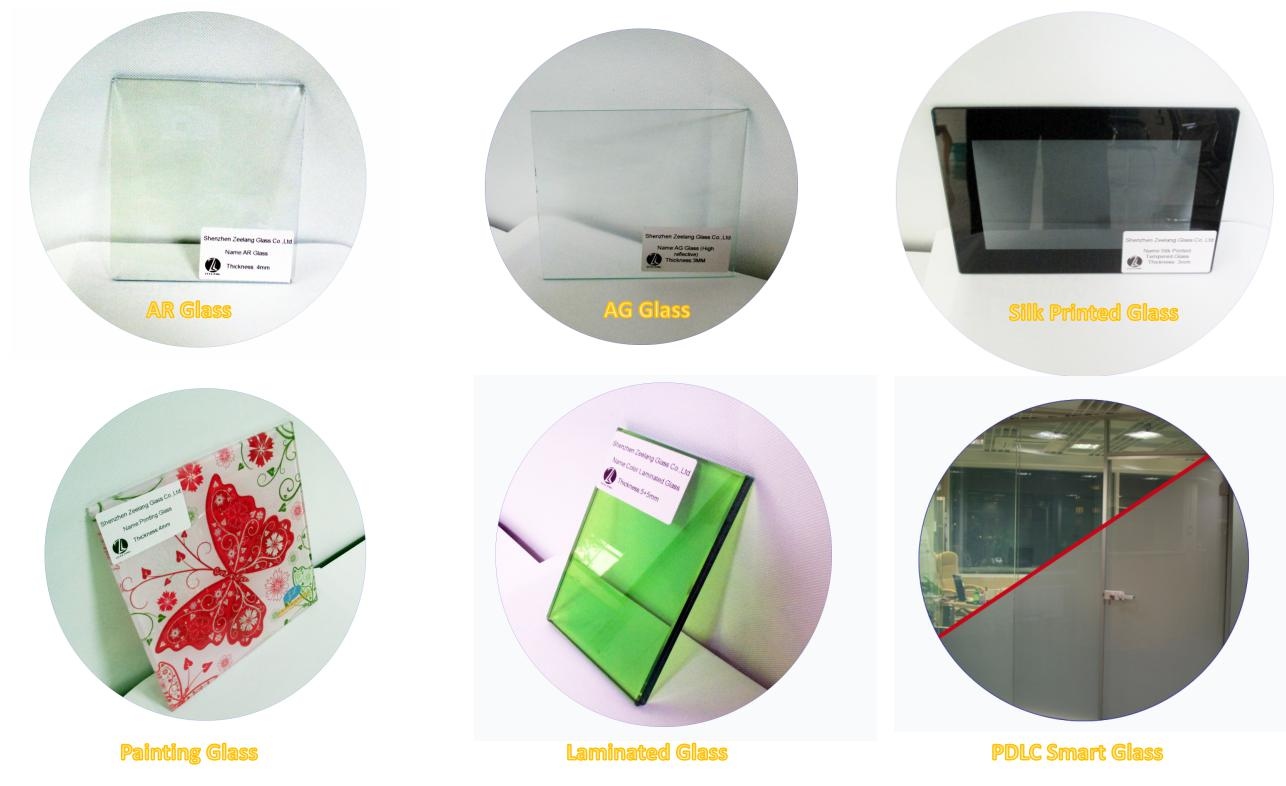 2 -25mmTempered Laminate Clear Float Glass