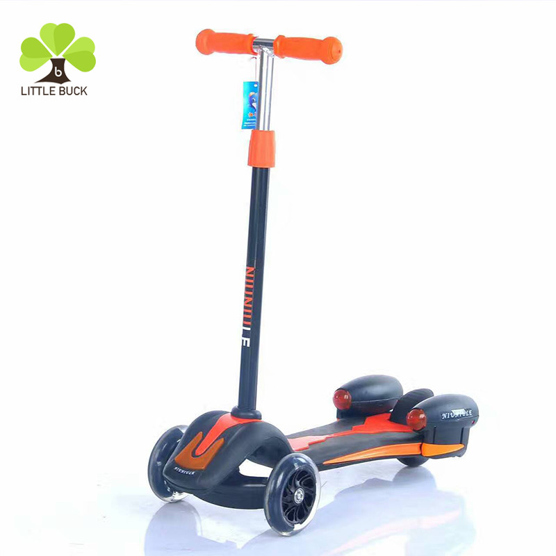 Best Seller 3 Wheels Flashing Children Kids Kick Scooter/baby electric/foldable electrical scooter high quality from china