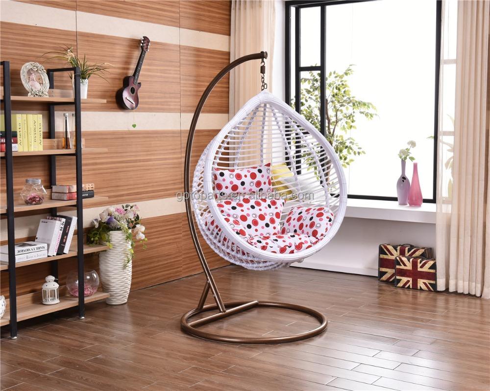 Un asiento techo mecedora para ni os silla del ocio de interior columpios de patio - Sillas colgantes del techo ...