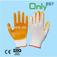 China factory general use finger protective pvc gloves for steel industry