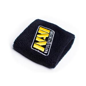 Custom Logo Bulk 100% Cotton Gym Sport Men Wrist Sweatband