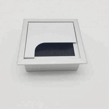 Small Aluminum Cable Grommet Wire Box