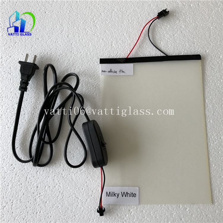 High Quality Clear And Black Electrochromic PDLC Privacy Film For Car Smart Glass Film For Window Switchable Glass Film prices