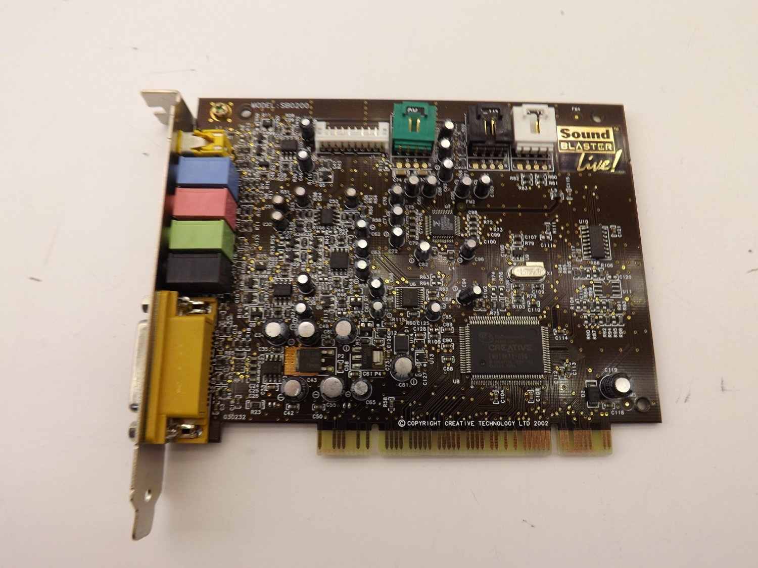 CREATIVE LABS SOUND BLASTER LIVE CT4620 DRIVER FOR WINDOWS