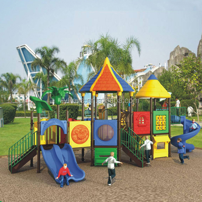 New cheap giant commercial equipment playground used spiral slide for sale
