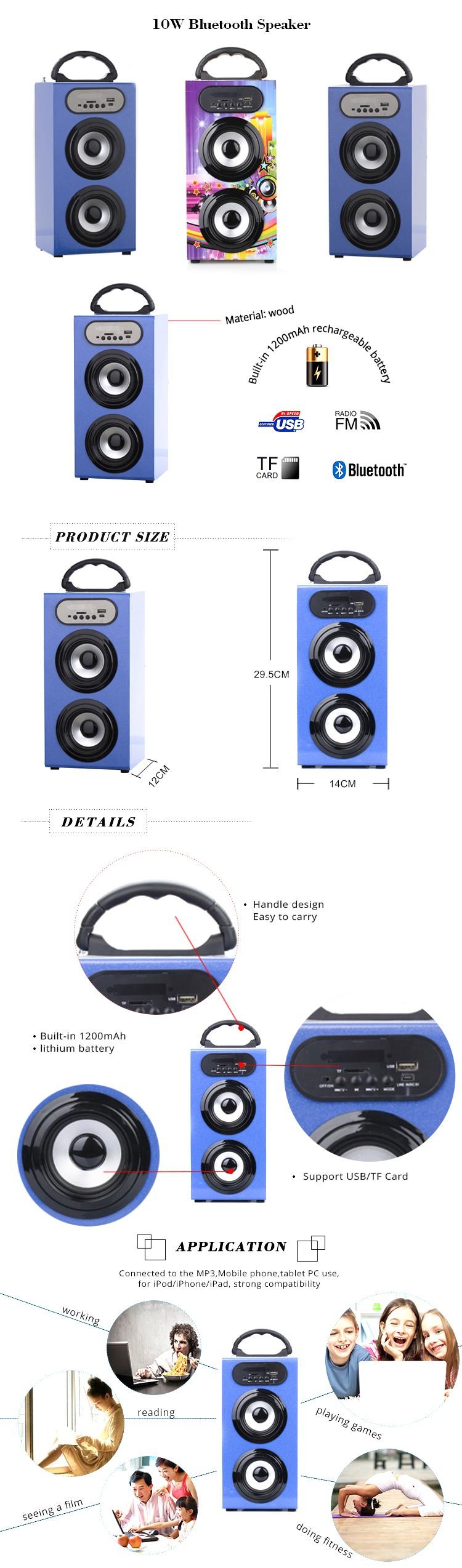 Bbq Kbq606 10w 1200mah Cheap Bluetooth Wireless External Tv