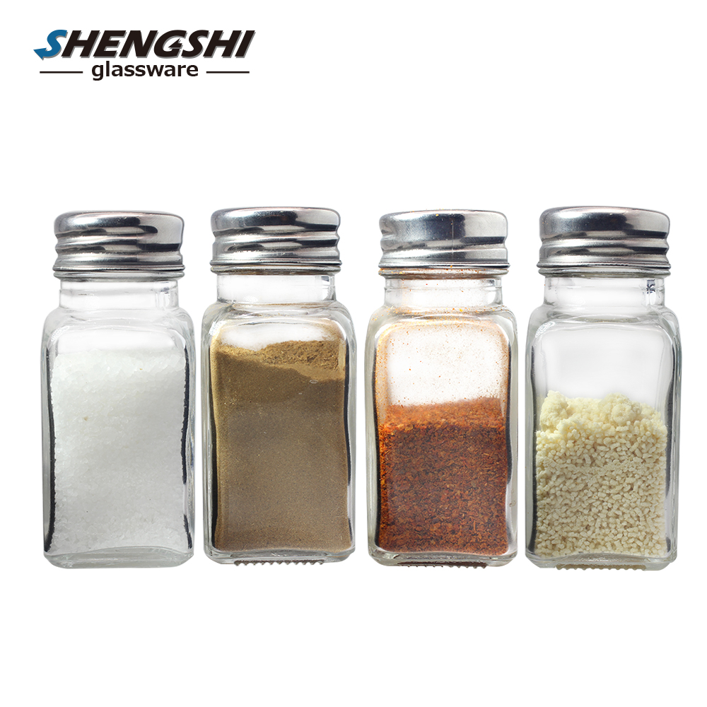 Wholesale mini container empty spice jars with metal lid glass bottle buy spice jar with metal lidspice containerglass spice bottle product on alibaba