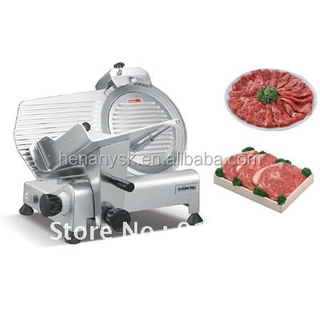 10 Inch 250mm 300mm Disc Electric Semi Frozen Meat Cutting Machine Slicer Restaurant Commercial Meat Cutting Machine Slicer