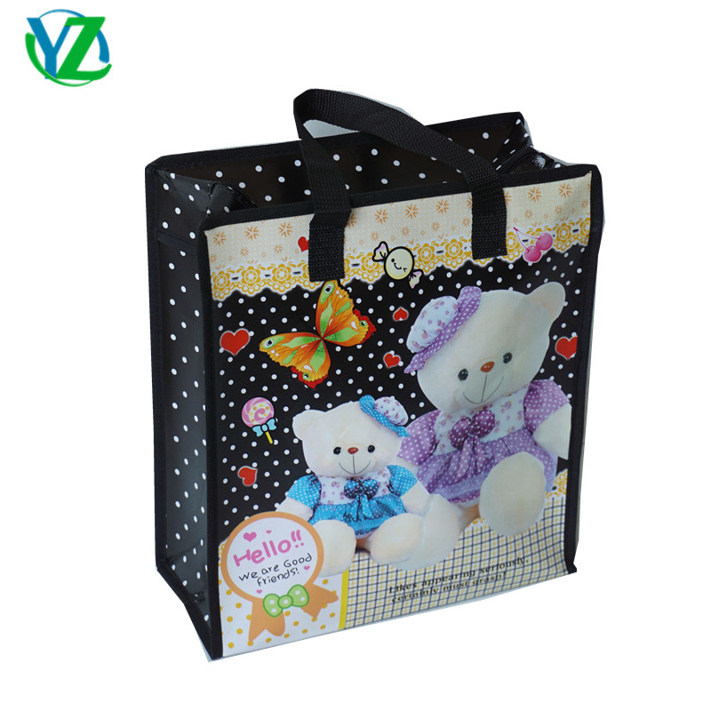 bd1b00fb77 Cheap Price Custom hello kitty Printed Eco Friendly Tote Grocery Shopping  Fabric Laminated Recyclable Non Woven .