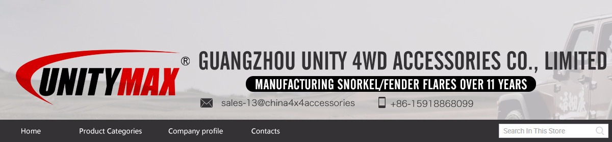 Guangzhou Unity 4WD Accessories Co , Limited - snorkel