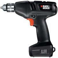 Black & Decker 6v & 18v Cordless Drill With Storage Case