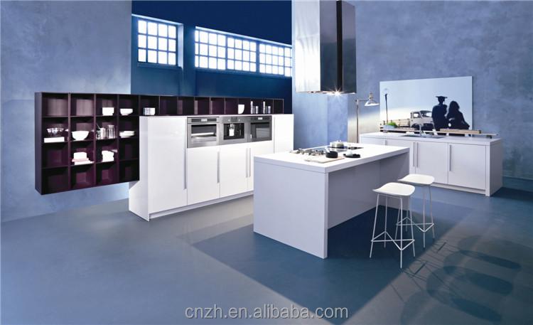 2015 aangepaste kachel eiland keukenkast ontwerp met lange ontbijt ...