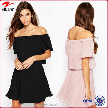 New Modern Off Shoulder Dress Women Casual Clothes - Buy Casual ...