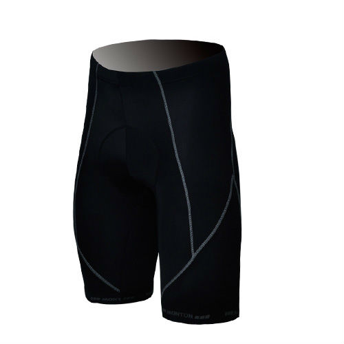 Black Color Men's Function Cycling Shorts