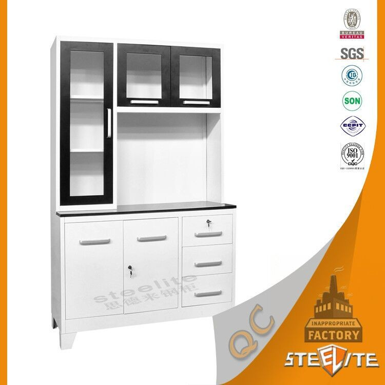 Factory Price Powder Coating Stainless Steel Kitchen Cabinet Malaysia Sets